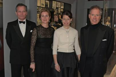 Daniel Chatto, the Countess of Snowdon, Lady Sarah Chatto and the Earl of Snowdon
