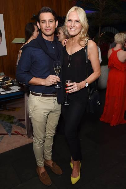 Ollie Locke and Chrissie Reeves