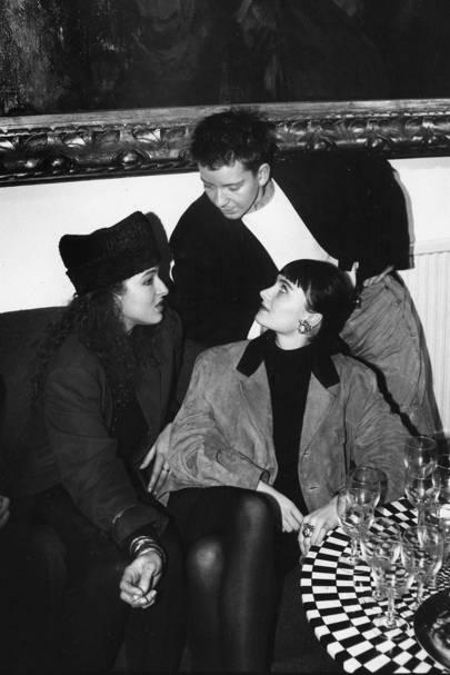 Carolyn Trevor, Sarah Gredley and Tino Zervudachi