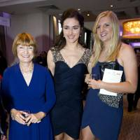 Tessa Jowell, Sarah Storey and Rebecca Adlington