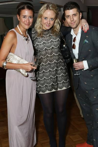 Alice Merriman, Riona Dundas and Clayton Woltz