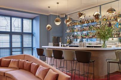 If Like Us You Re Glued To Your Instagram Feed Might Have Noticed A New Mayfair Dining Room Cropping Up On There With Its Pretty Yellow Sofas And