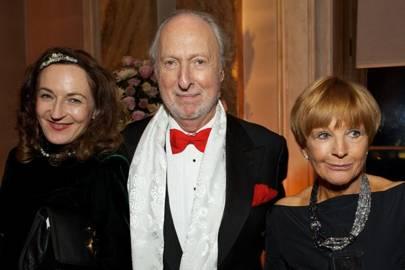 Gertrude Conran, Ed Victor and Anne Robinson