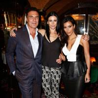 Andre Balazs, Liberty Ross and Kim Kardashian