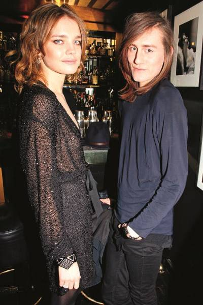 Natalia Vodianova and Thomas Tait