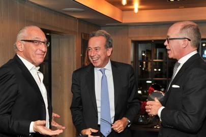 Walid Chammah, Michael Zaoui and Sir Harry Nuttall