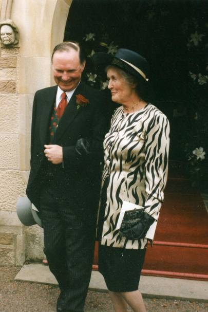 Archie Walker and Mrs David de la Hey