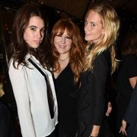 Gala Gordon, Charlotte Tilbury and Poppy Delevingne