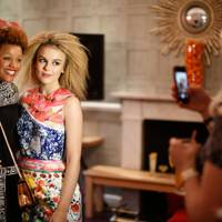 Gemma Cairney and Tallia Storm
