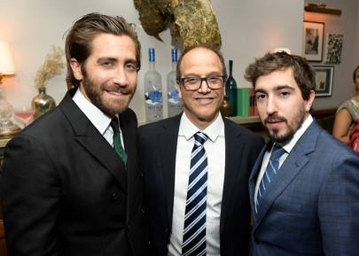 Jake Gyllenhaal, Gary Michael Walters and Jeff Bauman
