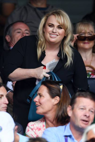 Rebel Wilson, guest of evian's Live Young Suite