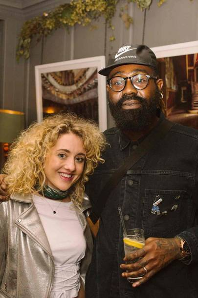 Jessy Burrows and Mikill Pane