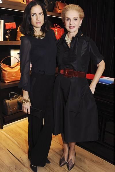 Carolina Herrera de Baez and Carolina Herrera