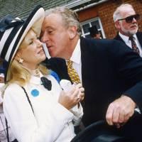 Mrs John Magnier and Rhyddian Morgan-Jones