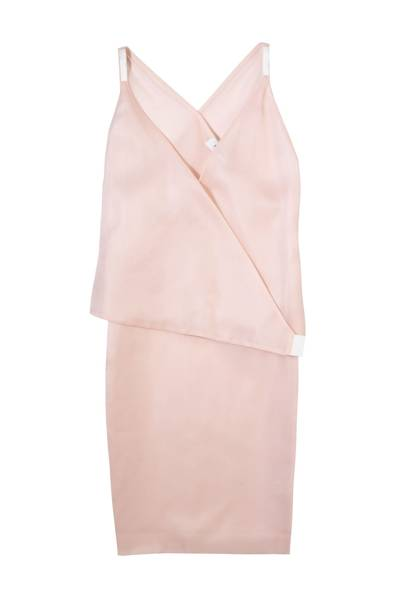 Silk-mix dress, £636, By Ports 1961