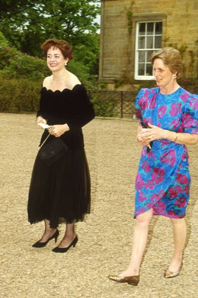 Lady Jane Grosvenor and Mrs Gavin Tweedie