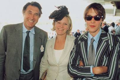 Bryan Ferry, the Countess of March and Kinrara and Tara Ferry