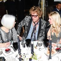 Linda Fargo, Peter Dundas and Nicky Hilton Rothschild
