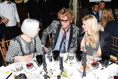 Linda Fargo, Peter Dundas and Nicky Hilton Rothschild