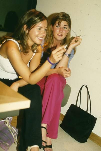Daisy Dundas and Gemma Corry-Reid