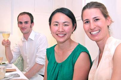 Kelvin De Veth, Caroline Kha and Carolin Wagner