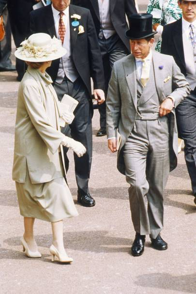 Princess Alexandra and The Prince of Wales