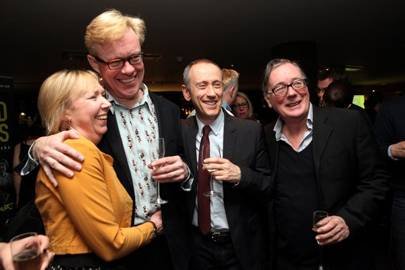 Gabrielle Lloyd, Alex Jennings, Nicholas Hytner and Jeff Rawle