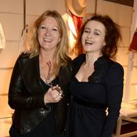 Virge Bonham Carter and Helena Bonham Carter