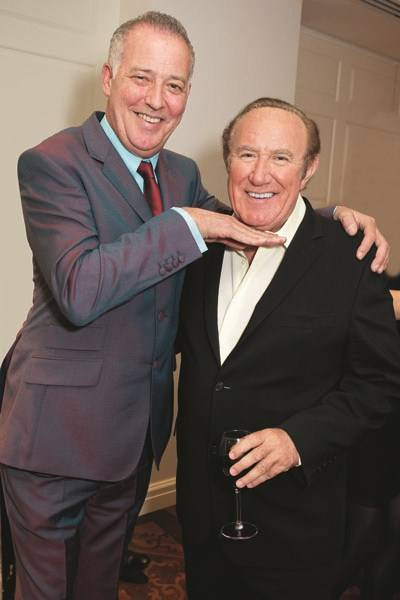 Michael Barrymore and Andrew Neil
