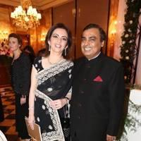 Mukest and Nita Ambani