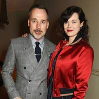 Jasmine Guinness and David Furnish