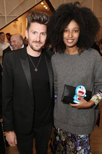 Henry Holland and Julia Sarr-Jamois