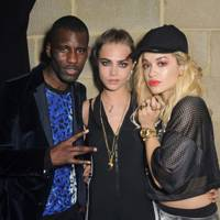 Cara Delevingne, Rita Ora and Wretch 32