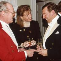 Earl Bathurst, Mrs David Cardale and Roger Seelig