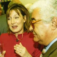 Marika Cobbold and Antonio Carluccio