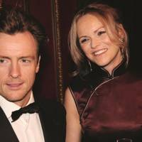 Toby Stephens and Anna-Louise Plowman