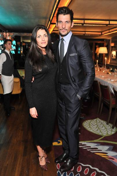 Natalia Barbieri and David Gandy
