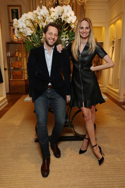 Derek Blasberg and Lauren Santo Domingo