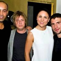 Paul Murashe, Jake Gosling, Elena Baccini and John Woolf
