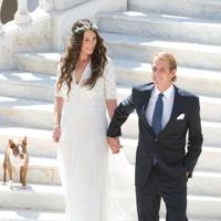 The wedding of Tatiana Santo Domingo and Andrea Casiraghi, 2013