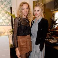 Phoebe Collings-James and Laura Bailey