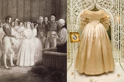 Queen Victoria's wedding to Prince Albert, 1840