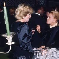 Mrs Guy Ward and Baroness Helene de Ludinghausen