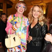 Grayson Perry and Jerry Hall