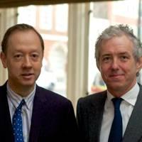 Geordie Greig and Bill Prince