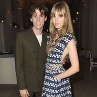Johnny Borrell and Edie Campbell