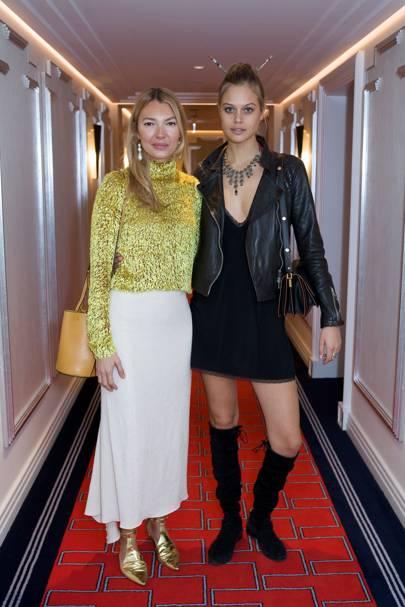 Roberta Benteler and Jessica Clarke