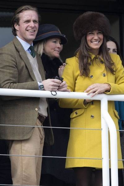 Tom Kingston and Pippa Middleton