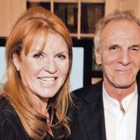 Sarah, Duchess of York and Mark Shand