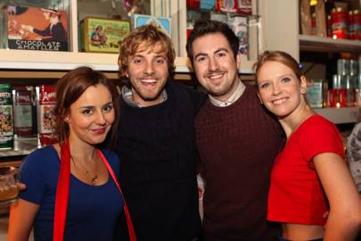 Georgia Lou-Anne, Matt Schofield, Kristian Fryer-Kelsey and Sophie Applebie